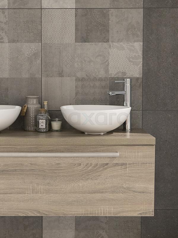 Natuursteendecor badkamer - Tegel inspiratie | Maxaro