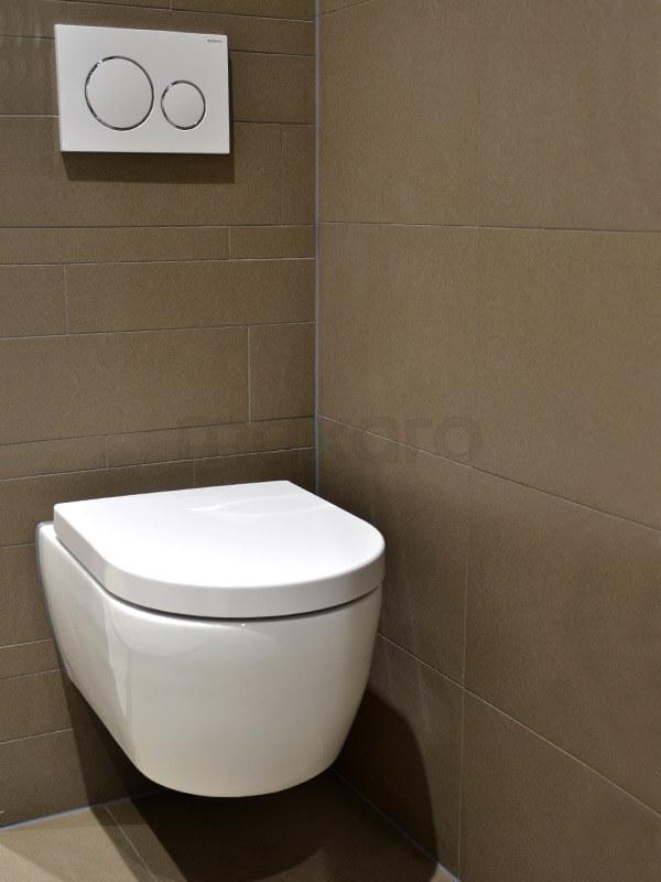 Stroken toilet Tegel