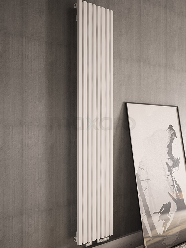 Uniek design witte radiator Tegel