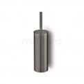 WC Borstel Radius Black Steel, Hangend, Zwart Metaal Maxaro Radius 200-1202ZM
