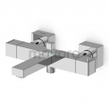 Badkraan Cubic Chrome Opbouw Thermostaat Chroom Maxaro Cubic 22.100.403
