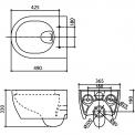 MOCOORI Sigma 01 911013559 Inbouwtoilet