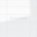 Wandtegel Blanco 25x75cm Uni Wit Glanzend Gerectificeerd Tegel Blanco 301-500201