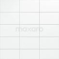 Wandtegel Blanco 25x40cm Uni Wit Mat Tegel Blanco 301-500402