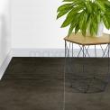 Tegel Dust 304-030103 Vloertegel/Wandtegel Dust Midnight 60x60cm Betonlook Grijs Gerectificeerd