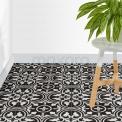 Vloertegel/Wandtegel Memory Classic Black 20x20cm Portugees Multicolor