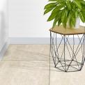Vloertegel/Wandtegel Gem Bianco 60x60cm Natuursteenlook Beige Gerectificeerd