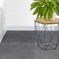 Vloertegel/Wandtegel Verso Dark Grey 60x60cm Uni Grijs Gerectificeerd