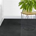 Vloertegel/Wandtegel Verso Ebony 60x60cm Uni Antraciet Gerectificeerd