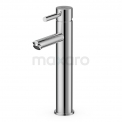 Wastafelkraan Radius Chrome Eéngreeps Verhoogd Model Chroom Maxaro Radius 55.003.521