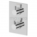 Inbouw Douchekraan Radius Chrome, Thermostatisch, Chroom Maxaro Radius 55.152.502NS