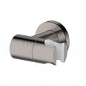 Thermostatische Badkraan met Handdouche Radius Steel, Rvs-look