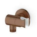 Handdouchehouder Radius Copper, Wandmontage, Koper Maxaro Radius 55.156.800KPN