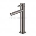 Hoge Fonteinkraan Radius Steel, Koudwaterkraan, Rvs-look Maxaro Radius 55.004.414BR