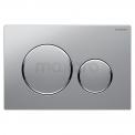 Bedieningspaneel Toilet Sigma 20 Chroom-look Mat Geberit Sigma 20 911013551