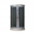 Complete Douchecabine 90x90cm Spiegelglas Modera Watermassage LED Verlichting