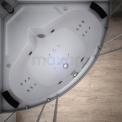 Stoomcabine met bubbelbad MOCOORI Modera AK1515-610110