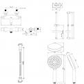 Maxaro Maxaro BSC-0303-00000 Badset opbouw