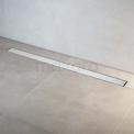 Douchegoot RVS met Flens 100cm Glass White Rooster