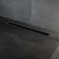 Douchegoot RVS met Flens 80cm Glass Black Rooster