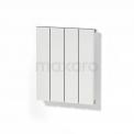 Maxaro Jupiter DR52_0405SWN-E Toilet radiator met elektrisch element