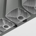 Maxaro Neptune DR54_0412RL Aluminium designradiator