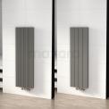 Dubbelzijdige aluminium designradiator MOCOORI Ceres DR55_0412RL