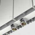 Maxaro Ceres DR55_0412SW Dubbelzijdige aluminium designradiator
