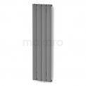 Aluminium Designradiator Eris Lichtgrijs Metallic Maxaro Eris DR56_0412RL