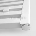 Aluminium Handdoekradiator Zeus Glanzend Wit 1160 Watt 60x120cm Verticaal