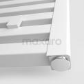 Aluminium Elektrische Radiator Zeus Mat Wit 1160 Watt 60x120cm Verticaal