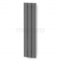 Aluminium Designradiator Metis Donkergrijs Metallic Maxaro Metis DR58_0312RD