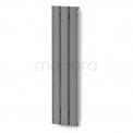 Aluminium Designradiator Metis Lichtgrijs Metallic Maxaro Metis DR58_0312RLN