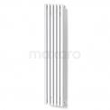 Aluminium Designradiator Sol Wit 524 Watt 25x120cm Verticaal Maxaro Sol DR59_0612SW