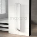 Aluminium Designradiator Sol Wit 524 Watt 25x120cm Verticaal Maxaro Sol DR59_0612GW