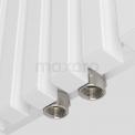 Maxaro Sol DR59_0612SW Aluminium Designradiator Sol Wit