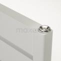 Maxaro Pluto DR60_0618SWN Aluminium handdoekradiator
