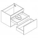 Hangend badkamermeubel MOCOORI Curve F01-060012101
