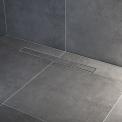 Douchegoot RVS met Flens 70cm Tile & plate Rooster