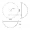 Maxaro Modulo Pico BMT006045 Hangend toiletmeubel