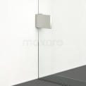 Maxaro Quartz IQB0812400B Inloopdouche 120x80cm Veiligheidsglas 8 mm Chroom look