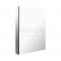 Spiegelkast Mio 50x60cm Aluminium 1 Deur Maxaro Mio K03-0500-45605
