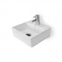 Fonteintje WC Clasico Keramiek Wit met Kraangat Maxaro Clasico K110-1100