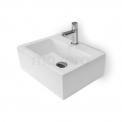 Fonteintje WC Clasico Keramiek Wit met Kraangat Maxaro Clasico K110-1110