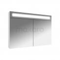 Spiegelkast met Verlichting Filo 90x65cm Hoogglans Wit Maxaro Filo K31-0900-40410