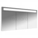 Spiegelkast met Verlichting Filo 120x65cm Hoogglans Wit Maxaro Filo K31-1200-40410