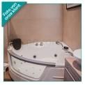 Whirlpool Bad Lagoon Silver 150x150cm Watermassage met Bluetooth
