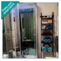 Stoomcabine Modera 100x100cm Spiegelglas Mistjets Watermassage LED