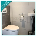 Hoekfontein WC Mintra Solid Surface Mat Wit
