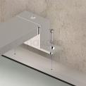 Spiegelverlichting L113 LED 30cm Zwart